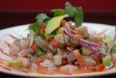 Ceviche de camarón a la mexicana