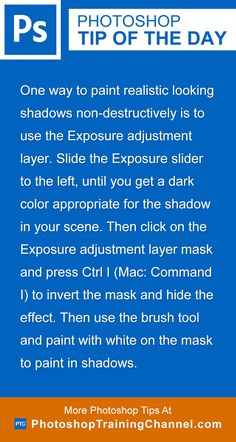 One way to paint realistic looking shadows non-destructively is to use the…