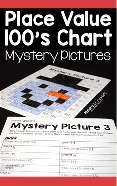 I love using these christmas place value color by number 100s chart puzzles to help my students build place value skills. Students always look forward to seeing the mystery picture revealed on the one hundreds chart. #placevalue #mathgames #100schart #colorbynumber #mysterypicture #christmas #christmasmath