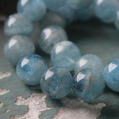 $150 SKU: 876299 #MrTree #Jewelry #JewelryDIY #JewelryAccessories --- Materials:Aquamarine / Size:14pcs beads http://www.pinterest.com/boutiques  - keywords: online jewelry stores, jewelry diy ideas, wire wrapped jewelry, buy jewelry online,