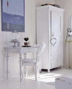 Zauberhafter Schreibtisch #loberon #white #weiss
