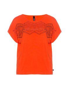 Verziertes Jerseyshirt von Yppig. Jetzt entdecken: http://www.navabi.de/shirts-yppig-verziertes-jerseyshirt-orange-19947-2100.html?utm_source=pinterest&utm_medium=social-media&utm_campaign=pin-it