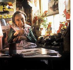 Canadian Folk Artist, Maud Lewis (1903 – 1970) had no formal training in the visual arts. Like many folk artists, she painted for the joy of adding color, light and fun to a poverty-stricken rural existence in Digby County, Nova Scotia.