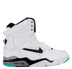 7939f96b159da Nike Air Command Force White Black Wolf Grey Hyper Jade