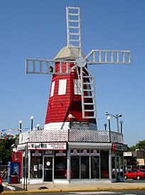 This is the original Windmill located in West End of West Long Branch. It was opened as a place where club-goers could get something to nosh after the clubs closed. They have the best hot dogs and cheese fries at the Jersey Shore, if not the state.