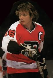 BOBBY CLARKE: Clarke spent his entire career with the Philadelphia Flyers winning two cups with them in 1974 and in 1975 and is regarded as being one of the best captains in NHL history. - 100 greatest players in NHL history - October 11 2016 Flyers Players, Flyers Hockey, Hockey Teams, Hockey Players, Ice Hockey, Hockey Cards, Sports Teams, Philadelphia Sports, Philadelphia Area