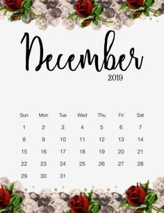 Cute Calendar, 2019 Calendar, Calendar Wallpaper, Iphone Wallpaper, Printable Planner, Free Printables, Study Planner, Winter Art, Months In A Year