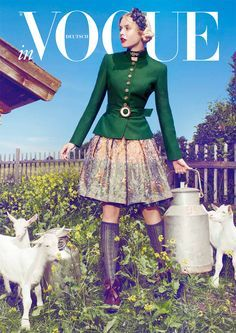 Vogue Dirndl