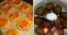 Bezkonkurenčná príloha zo zemiakov: Chrumkavé zemiaky so syrom tromfnú aj hlavné jedlo!