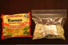 Travel Tips   Trekking Essentials Hiking Food, Backpacking Food, Ultralight Backpacking, Backpacking Checklist, Packing Lists, Ramen, Camping Snacks, Camping Recipes, Camping Tips