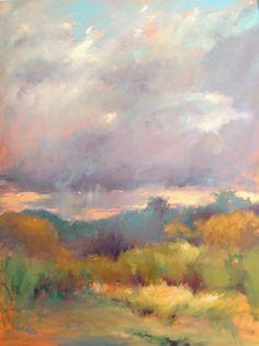 "Sunset Storm by Madeline Dukes Oil ~ 40"" x 30"""