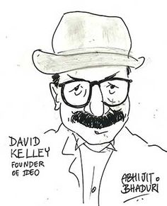 Love this sketch of David Kelley by Abhijit Bhaduri from The Times of India Design Thinking, My Books, Confidence, Disney Characters, Fictional Characters, Illustration Art, Sketch, David, India