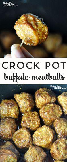 Crock Pot Buffalo Meatballs