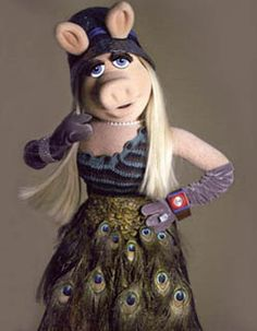 Style comes in all shapes and sizes. Therefore, the bigger you are, the more style you have. - Miss Piggy#inline_12
