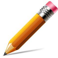 Pencil icon (Vector PSD) - 365psd