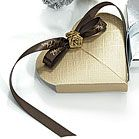 Seta Oro - Lustrous Gold Favor Boxes 2 designs