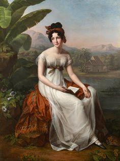 Image result for Portrait of Césarine de Houdetot, Baronne de Barante: Les Pamplemousses
