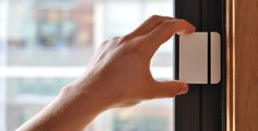 Stylish DIY home security system connects and communicates via home network, offering IFTTT customization, and the option for HD camera.