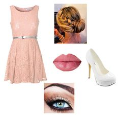 """""""One of those dress up days for volleyball"""" by ashynae ❤ liked on Polyvore featuring Michael Antonio and Glamorous"""