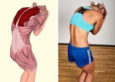 Kendinizi mükemmel hissettirecek 17 kas esnetme hareketi 17 muscle stretching exercises that will make you feel perfect Yoga Fitness, Fitness Workouts, Wellness Fitness, Muscle Fitness, Exercise Workouts, Men Exercise, Muscle Food, Workout Routines, Gain Muscle