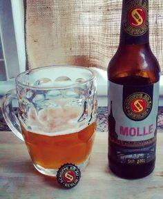 Molle #SchoppeBrau #Molle #Berlin #German #Germany #Beer #Selfie #Alcohol #Saturday #Football #5%