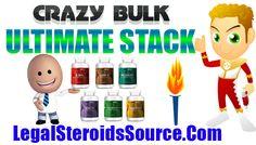 Crazy Bulk Ultimate Stack Review - Best Muscle Building Stacks - http://legalsteroidssource.com/buy-crazy-bulk/ultimate-stack-review/