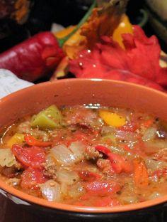 Crock Pot Pepper Soup