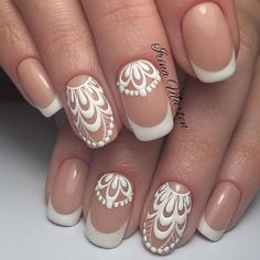 Top Trends 100 Classy Manicure Nails To Try Chic And Modern Nail Art Designs Ideas Nail art ideas are all amazing and funky however once you got to visit work each day, most of them aren't appropriate as numerous dress codes dictate even thi French Manicure Nail Designs, Fingernail Designs, French Tip Nails, Nail Manicure, My Nails, Nails Design, Polish Nails, Classy Nail Art, Classy Nail Designs