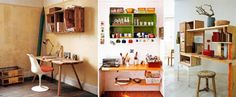 Caixotes de madeira na decoração da casa | Dicas de Decoração | Blog de Decoração LojasKD