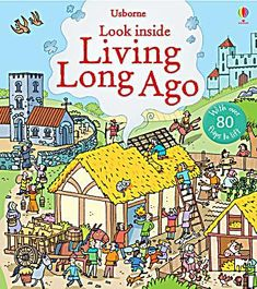 Usborne Look Inside Living Long Ago. Pappband - Buch - Usborne Look Inside Living Long Ago. What Is Life About, About Me Blog, Human Geography, Lotion For Dry Skin, Thing 1, Roman History, New Inventions, Book People, Book Format