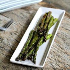 Simple Roasted Asparagus - I added minced garlic to mine.  Yum!!!