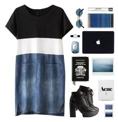 """""""O9.O5.15   originality is key"""" by carechristine ❤ liked on Polyvore featuring Charlotte Russe, Fresh, Aspinal of London, Rosendahl and philosophy"""