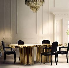Representing the essence of empowerment, sophistication, mystics, and enticement, the Fortuna features a one of a kind design, with a unique table surface texture and incredible finish.