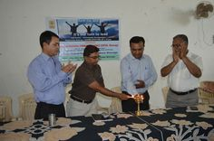 Inauguration of World Earth Day 2015 Celebration by Dignitaries.
