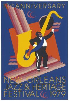 Jazz Fest Poster 1979