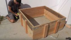 Create the outer frame | Turn Your Backyard Into A Camping Area With This DIY Outdoor Fire Pit