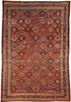 Northwest Persian carpet Northwest Persia Circa 1900 size approximately 12ft. x 17ft. 6in.
