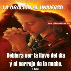 La oración al universo......