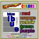 This title contains a set of booklets which not only spell out the names of the colors, but do so in a fun way! Each letter of the word is a separa. Student Drawing, Booklet, Spelling, Kindergarten, Names, Lettering, Writing, Words, Colors