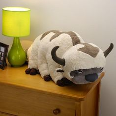 """I found '20"""" Appa Plush Toy From Avatar the Last Airbender' on Wish, check it out!"""