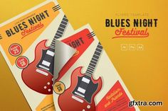 Graphicriver Guitar Festival Flyer 17962987