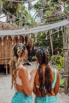 Carmella Top The Ultimate Girls' Guide to Tulum – Tripping with my Bff hairstyles for school The Ultimate Girls' Guide to Tulum Cute Hairstyles For Teens, Teen Hairstyles, Hairstyles For Beach, Wedding Hairstyles, Travel Hairstyles, Teen Haircuts, Natural Hairstyles, Evening Hairstyles, Halloween Hairstyles