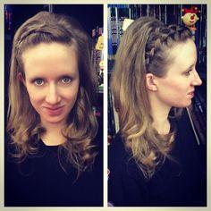 Penteado por @tayllabelarmina #circushair #circuspamplona #hair #prom  #penteado #fashion #style