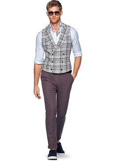 Blue Waistcoat W160107 | Suitsupply Online Store