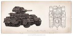 Iron Grip: Atelia Light Tank