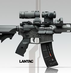 Trijicon RMR, Aimpoint Micro H-2 & x3 Magnifier in LaRue Tactical Mounts, Radian Raptor Charging Handle & Talon Safety, Magpul MBUS Pro, LWRC Stock. Lantac RPS Anti Rotation Plate and Nut, UPS Takedown Pins, UFA-S Forward Assist, E-CT1 Single Stage Trigger, Spada-ML Handguard and S&W 15-22 Magazine.