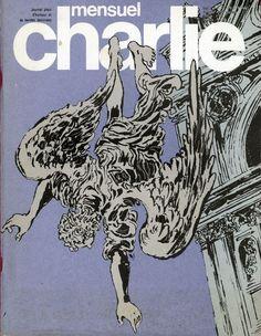 Charlie Mensuel - # 116 - Septembre 1978 - Couverture de Crepax