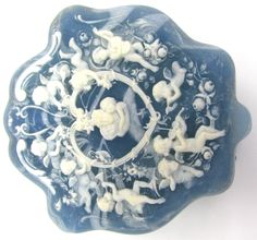 Blue Incolay Jewelry Box http://stores.ebay.com/thesalvationarmyonlinestore/?_dmd=2&_nkw=%28112%29