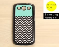Mint chevron Samsung Galaxy S3 case / Samsung by AnotherCase, €13.00
