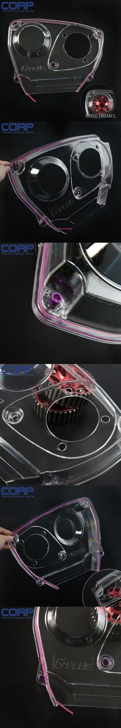 Clear Cam Gear Timing Belt Cover Pulley For NISSAN Skyline R32 R33 GTS RB25DET